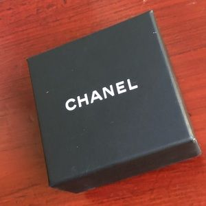 CHANEL box and earring holder